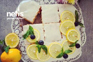 Yumurtasız Limonlu Harika Bir Kek Tarifi