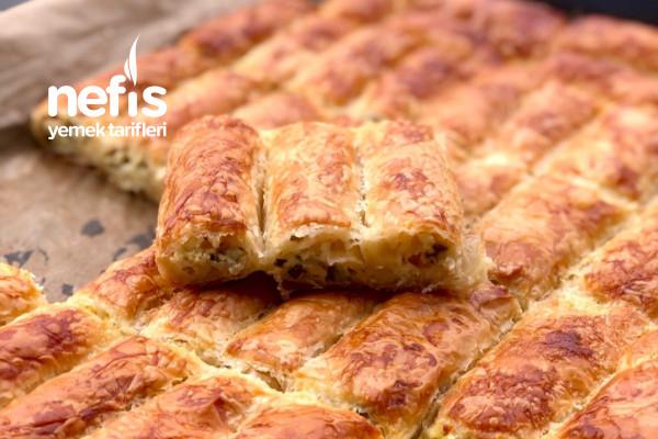 El Açması Tadında Efsane Çıtır Börek (Baklavalık Yufka İle) Tarifi