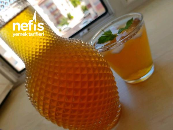 Şeftalili Ice Tea Yapımı