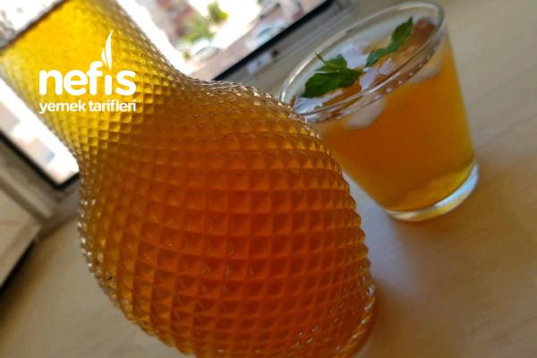 Şeftalili Ice Tea Yapımı Tarifi