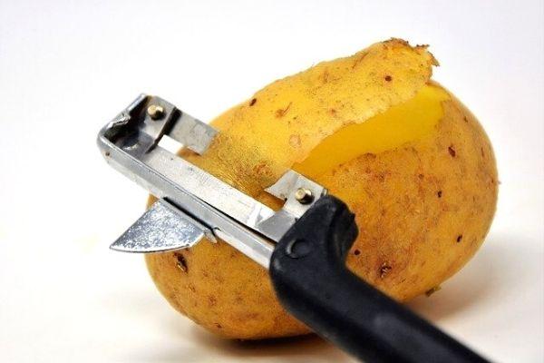 patates kabuğu