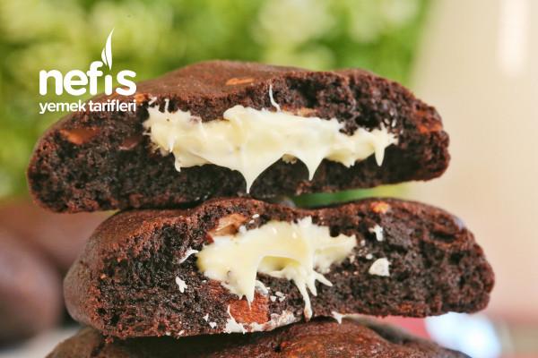 İçi Beyaz Çikolatalı Yumuşacık Van Stapele Kurabiyesi