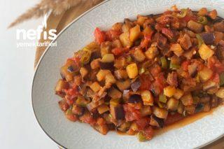 Kahvaltıya En Güzel Yakışan Patlıcan Kavurması Tarifi