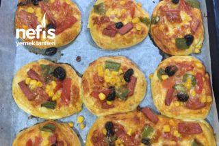 Mini Pastane Pizzaları Tarifi