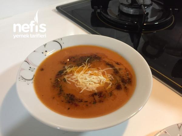 Domates Çorbası (Fıransız Usulü