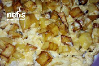 Kahvaltıya Patatesli Yumurta Tarifi