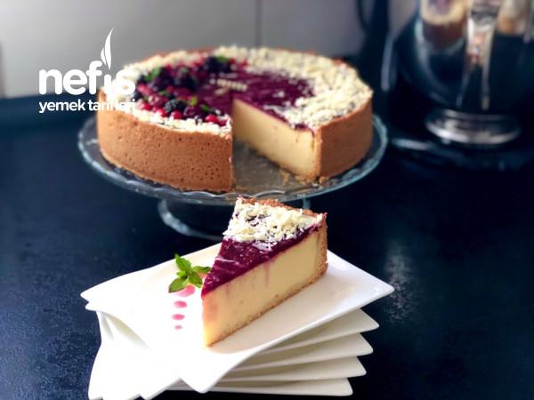 Orman Meyveli Alman Usulü Cheesecake (Käsekuchen) – Videolu