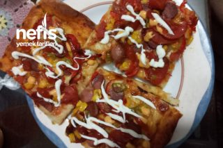 Aile Boyu Pizza Tarifi