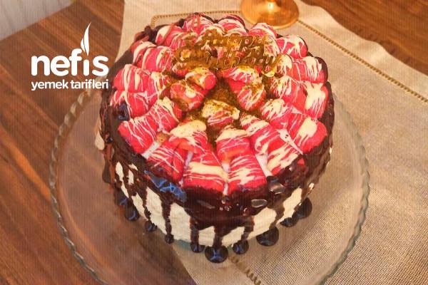 Doğum Günü Pastası (Katlı Yaş Pasta- Pandispanya Keki) Tarifi