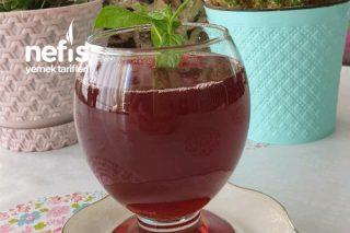 Kırmızı Meyve Şerbeti (Kızılcık + Vişne) Tarifi