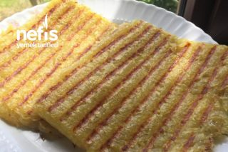 Tost Makinasında Rende Patates Tarifi