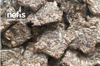 Tohum Kraker (Glutensiz) 3 Malzemeli Tarifi