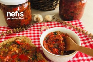 Nefismi Nefis Patlıcanlı Kahvaltılık Harika Sos (Videolu) Tarifi