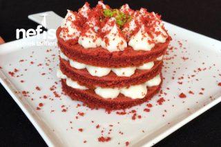 Red Velvet (Kırmızı Kadife Pasta) Tarifi