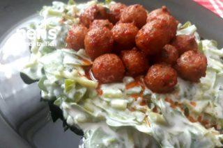 Bulgur Köfteli Semizotu Salatası Tarifi
