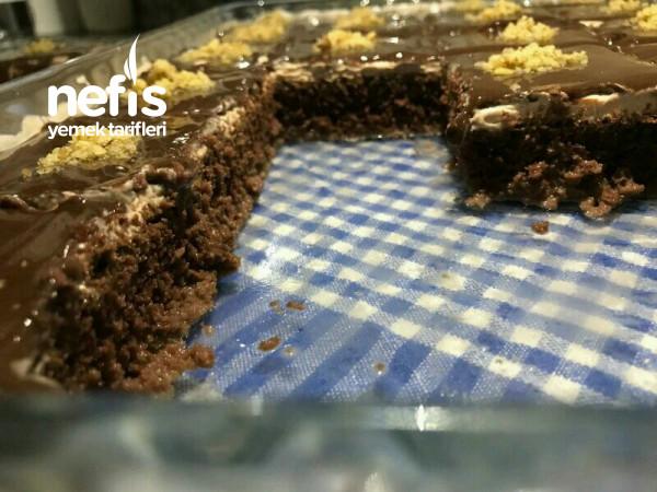 Çikolatalı Pamuk Pasta Videolu