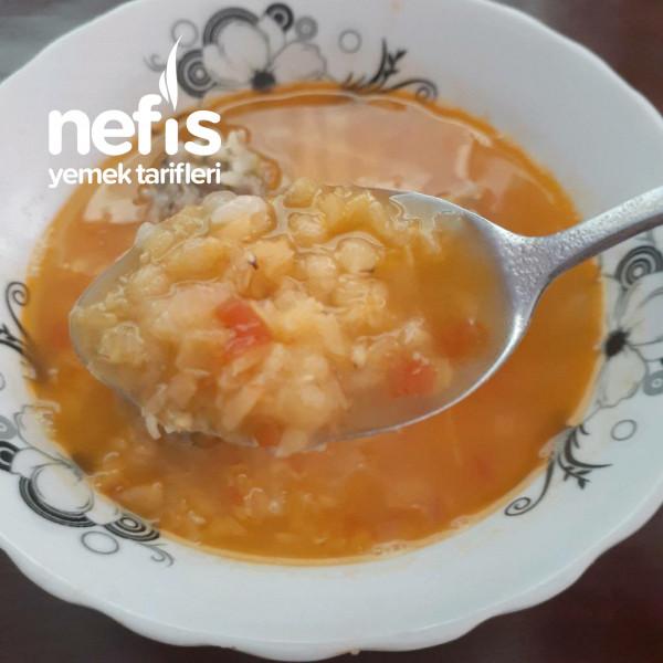 Köfteli Mercimek Çorbası (En Sevdiğinizden)