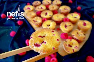 Ahududu Ve Limonlu Mini Muffin (Amerika) Tarifi