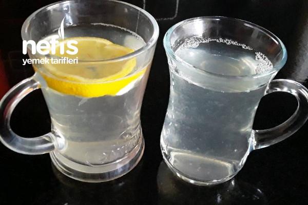 Limonlu Sirkeli Sıcak Su Kürü (Ödem Attıran Hızlı kilo verdiren)