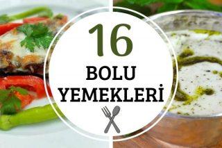 Bolu Yemekleri: Aşçılar Diyarından 16 Tarif Tarifi