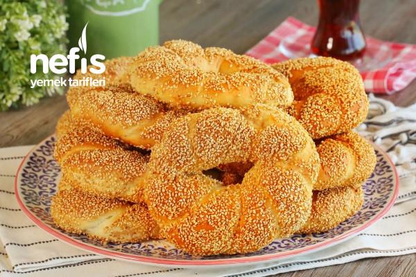 Pastane Usulü Sütlü Simit (videolu) Tarifi