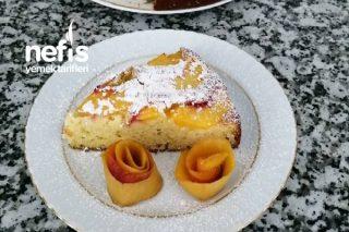 Teremyağlı Harika Bir Şeftali Keki Tarifi