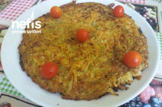 Teremyağlı Kabak Ve Patatesli Kahvaltılık Tarifi
