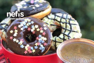 Bağımlılık Yapacak Donut Tarifi(Videolu)