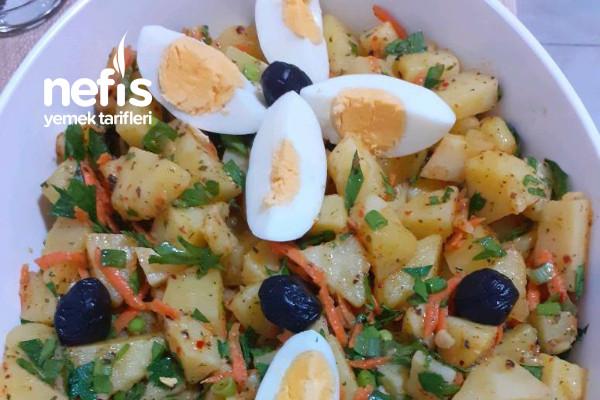 Ferahlatan Baharatlı Patates Salatası