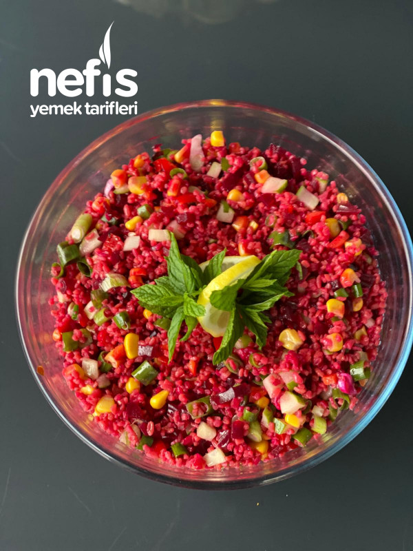 Kırmızı Turp Salatası