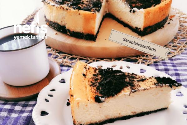 Teremyağ Oreolu Cheesecake Tarifi