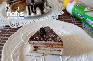 Teremyağlı Çikolatalı Pankek Pasta 20 Dakikada Hazır Tarifi