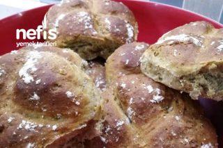 Teremyağlı Tahıllı Mini Ekmek Tarifi