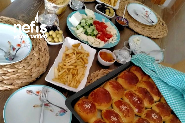 Eltimin Hazırladığı Müthiş Kahvaltı Tarifi