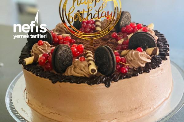 Muzlu Doğum Günü Pastası Tarifi