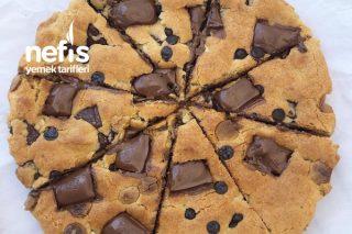 Teremyağlı Çikolatalı Dev Cookie Tarifi