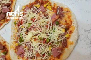 Dondurucuya Koymak İçin Katkısız Pizza Tarifi