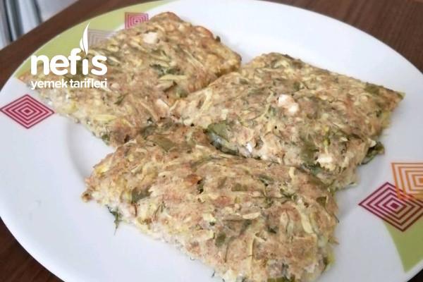 Fırında Kabaklı Kek (Mücver) Tarifi