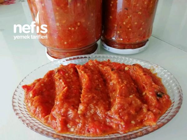 Köz Patlıcanlı Ve Köz Capya Biberli Kahvaltılık Sos (Kahvaltıların Vazgeçilmezi)