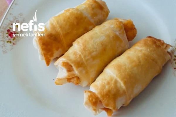 Patatesli Çıtır Börekler Tarifi