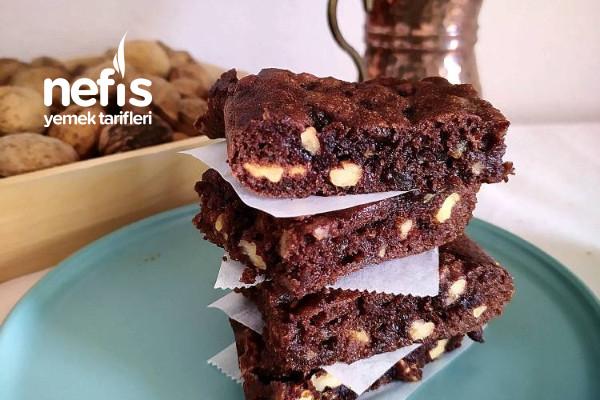 Rafine Şekersiz Fit Brownie Tarifi