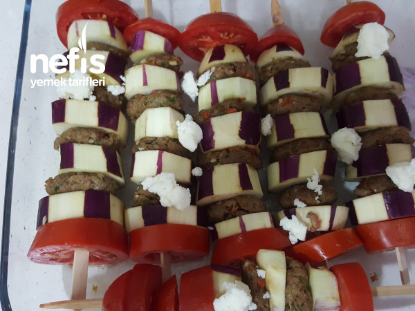 Hafif Ve Lezzetli Patlıcan Kebabı (Patlıcanı Kızartılmayan)