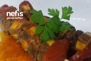 Hafif Ve Lezzetli Patlıcan Kebabı (Patlıcanı Kızartılmayan) Tarifi
