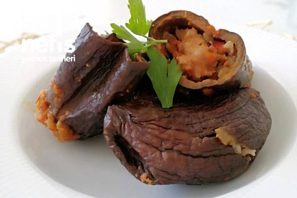 Kuru Patlıcan Dolma Tarifi