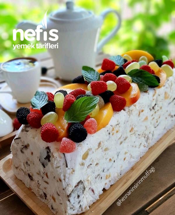 Yaz Sıcaklarında En Sevilen  (parfe) Kek
