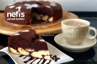Cheesecake Dolgulu Brownie Kek Tarifi