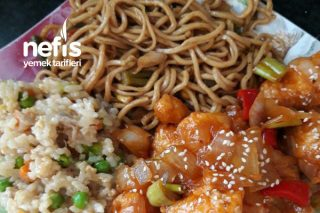 Çin Usulu Tatlı Ekşili Tavuk Tarifi