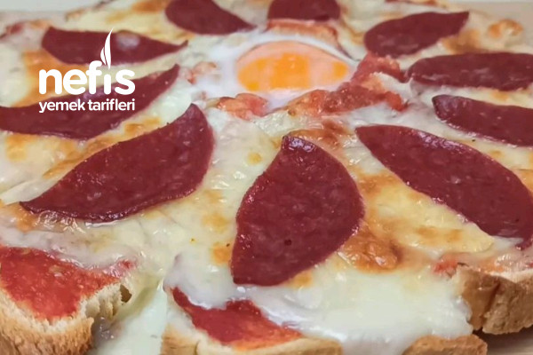 Kolay Pizza Tarifi (Videolu)