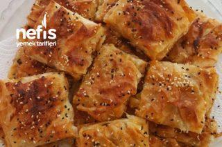 Teremyağlı Patatesli Tepsi Böreği Tarifi
