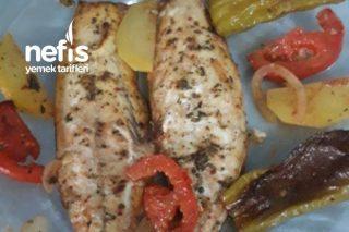 Teremyağlı Sebzeli Uskumru Fileto (Fırında) Tarifi